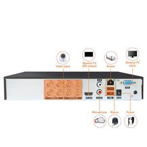 Image 4 - JOOAN 4CH 8CH 16CH טלוויזיה במעגל סגור DVR אבטחת מערכת 1080N H.264 HD פלט P2P היברידי 5 ב 1 Onvif IP מצלמה TVI CVI AHD וידאו מקליט