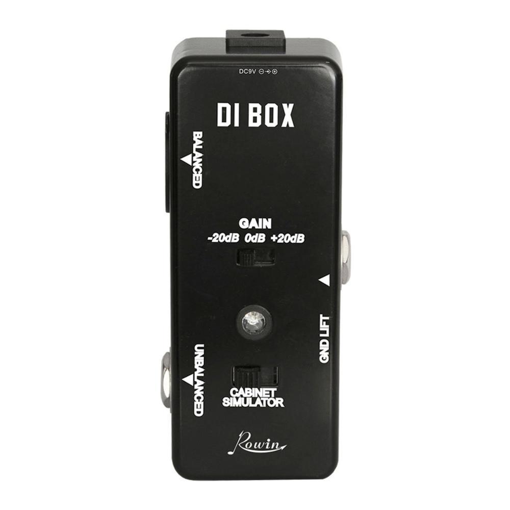 Rowin DI BOX LEF-331 Micro DI With Cab Sim And Gain