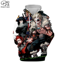 PLstar Cosmos My Hero Academia Anime Harajuku Tracksuit 3D Print Hoodie/Sweatshirt/Jacket/shirts Men Women hiphop casual style-2 футболка print bar my style