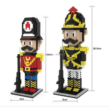hot LegoINGlys creators Classic nutcracker story soldiers dwarf figure mini micro diamond building blocks model nano bricks toys стоимость