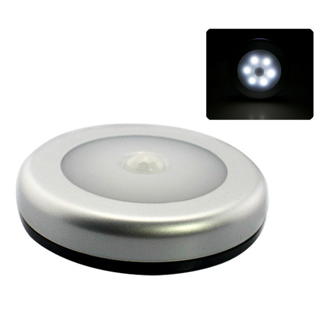 Body Motion Sensor 6 LED Wall Lamp Night Light Induction Lamp Corridor Cabinet LED Search Lamp Home Electronic Accessorie