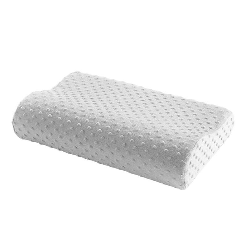 3 colors memory foam pillow orthopedic pillow latex neck pillow fiber slow rebound soft pillow massager