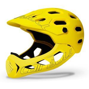 Велосипедный шлем со съемным подбородком, полноразмерный шлем для горного велосипеда, шоссейного велосипеда, спортивный шлем, защитная гол...