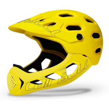Helmet Detachable Chin Full-covered Helmet On For MTB Road Cross-country Bike Sports Helmet Safety Head Protection Adult