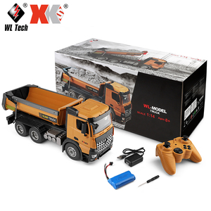 1/14 Scale RC Hobbies Construction Series 2.4G Radio Control Dump Trucks RTD WLTOYS Model Number 14600