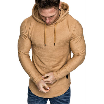 2021 New Men's Brand Solid Color Sweatshirt Fashion Men's Hoodie Spring And Autumn Winter Hip Hop Hoodie Male Long Sleeve M-3XL 2