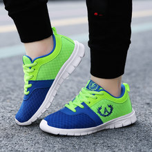 Kids Sport Shoes Boys Running Shoes 2020 Spring Children Breathable Mesh Shoes For Boys And Girls Fashion Sneakers(China)