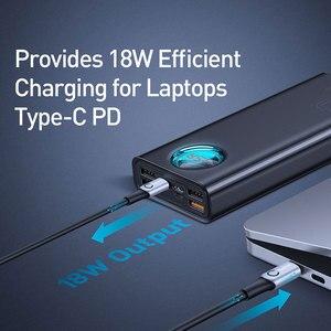 Image 2 - Baseus 30000mAh قوة البنك تهمة سريعة 3.0 USB PD شحن سريع Powerbank بطارية محمولة خارجية حزمة للهواتف الذكية المحمول