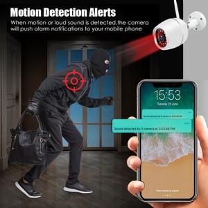Image 3 - Mini Outdoor IP Camera Wi Fi 1080P HD Metal Shell CCTV Wireless Security Video Surveillance Bullet Camera IR Light Night