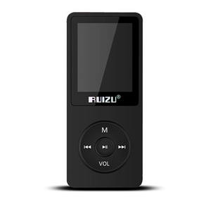 Image 3 - 100% מקורי RUIZU X02 MP3 נגן עם 1.8 אינץ מסך יכול לשחק 100 שעות, 8gb עם FM, ספר אלקטרוני, שעון, נתונים