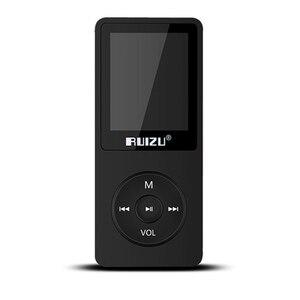 Image 3 - 100% オリジナル ruizu X02 MP3 プレーヤー 1.8 インチスクリーン 100 時間再生することができ、 8 ギガバイトと fm 、電子書籍、時計、データ