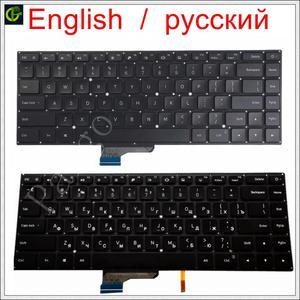 English / Russian New Backlit Keyboard for Xiaomi Mi notebook Pro 15.6 inch air laptop 9Z.NEJBV.101 NSK-Y31BV 171501 mx250 RU US