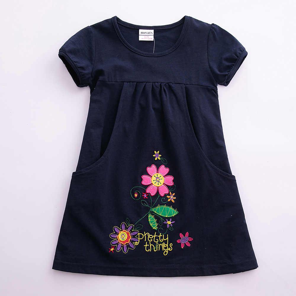 JUXINSU yaz kızlar Denim kostüm Casual kolsuz elbise sevimli tavşan dalga noktası bebek kız 1-6 yıl çocuklar giyim