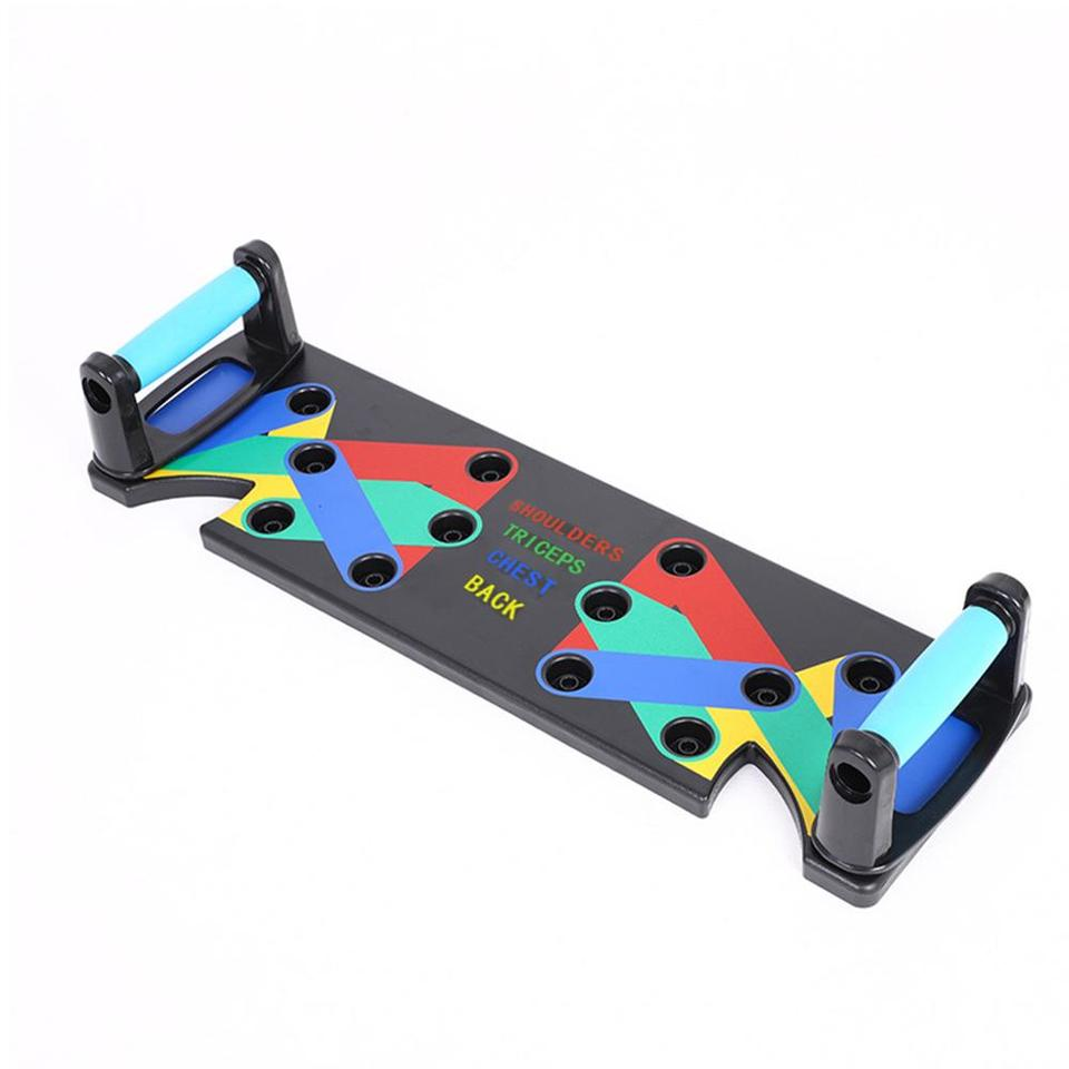 Domeilleur The Ultra Push 9 in 1 System Push-up Bracket Board Portable for Home Fitness Training