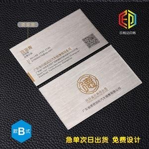 Image 2 - Letterp بطاقة عمل معدنية اللون مقعر محدب التذهيب الراقية بطاقة الأعمال بطاقات الطباعة المخصصة perdesign