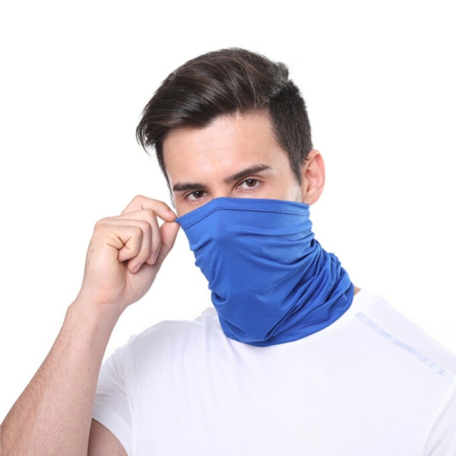 Cycling Neck Kerchief Scarf Outdoor Sports Riding Face Mask Skull Bandanas Halloween Cosplay Scarves Wicking Seamless