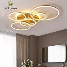 Современный потолочный светильник светодиодный умный для гостиной