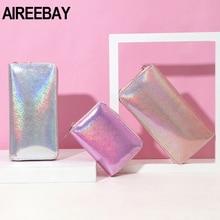 AIREEBAY Wallet Women Handbag Holographic Leather W