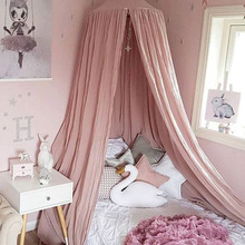 Tents Crib-Netting Curtain Canopy Bed Hanging-Tent Teepee House Mosquito-Net Room-Decor