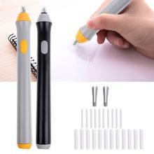 Electri gumka do mazania szkic rysunek wymazywanie baterii szkolne artykuły biurowe