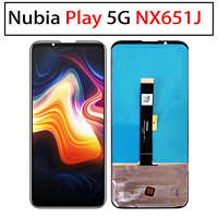 New LCD Display AMOLED and Touch Screen 6.65 Digitizer Assembly Repair Parts for ZTE Nubia Play 5G NX651J