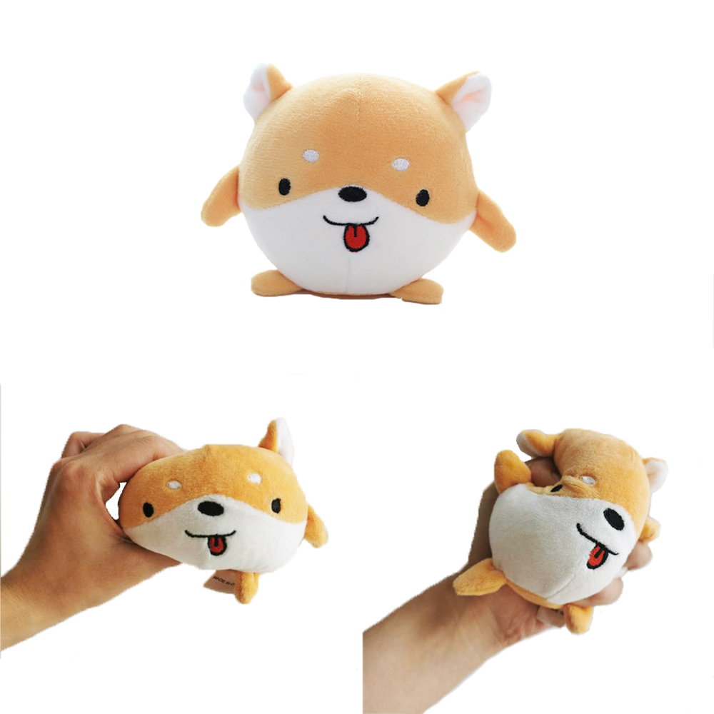 Nooer Cute Animal Corgi Rabbit Sheep Antistress Ball Squeeze Toys Stress Relief Funny Gift Toy