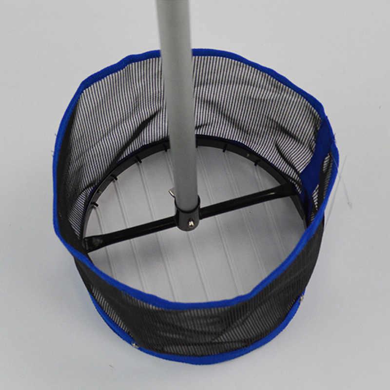 Grande capacité 120 pièces Ping-Pong sélecteur de balle télescopique Table de Ping-Pong sélecteur de balle aluminium pôle Tennis de Table cueillette Net Collecter