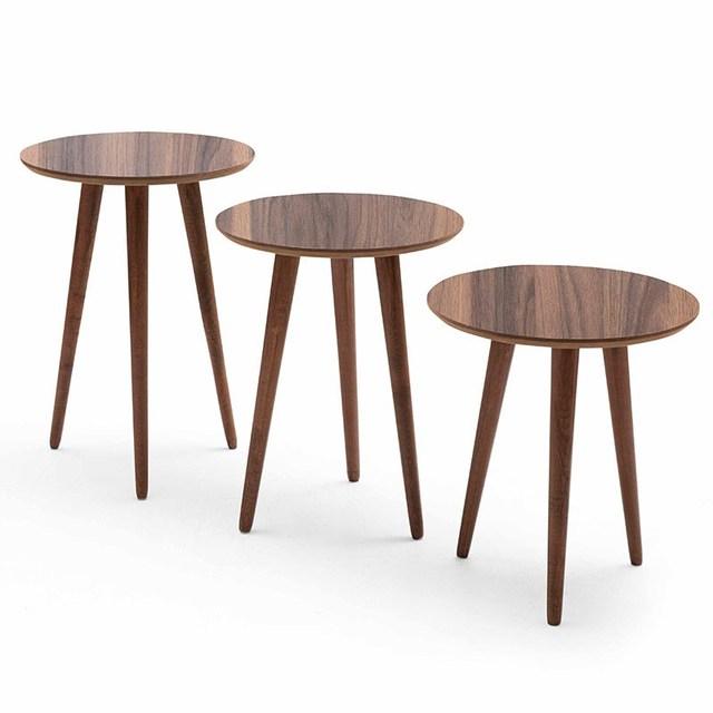 3 PCs Round Coffee Table  4