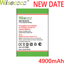 WISECOCO 4900mAh BAT16484000 Battery For DOOGEE X5 MAX Pro Mobile Phone Latest Production High Quality Battery+Tracking Number