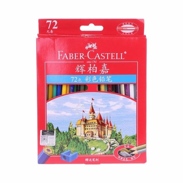 72 Pcs Faber Castell עפרונות צבעוניים לפיס דה Cor אנשי מקצוע אמן ציור שמן צבע עיפרון סיטונאי