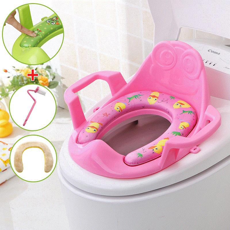 Portable Put Chamber Pot On Toilet For Kids Seat Cushion Household Toilet Seat Boy Toilet Stool Toilet Baby Girls