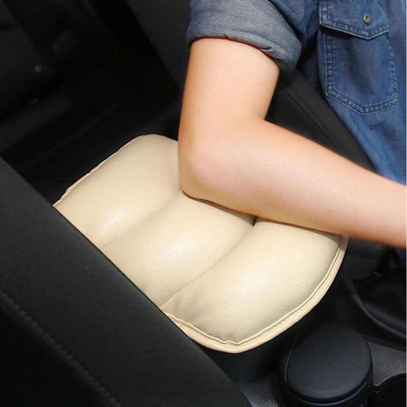 غطاء مقعد السيارة العالمي لينة جلدية السيارات مركز مسند ذراع ل اند روفر رينج روفر/إيفوك/فريلاندر/ديسكفري