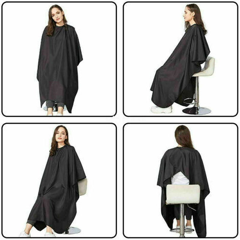 Hot Adult Salon Hair Cut Hairdressing Hair Cutting Gown Barber Cape Waterproof Barber Cloth Professional Hair Cloth Barber Capes