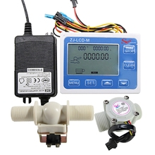 3/4 Digital LCD Display Quantitative Controller Water Control + 1