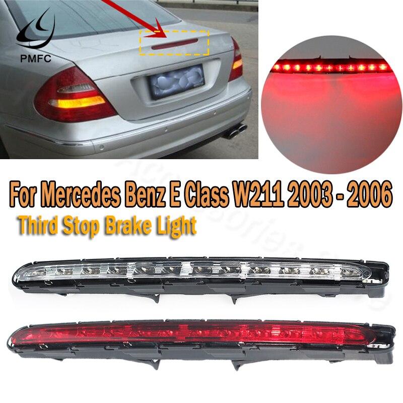 LED Third Brake Light,Rear High Mounted Stop Lamp Third Brake Stop Rear Tail Light Lamp Replacement fits 2003-2006 MB E-class W211