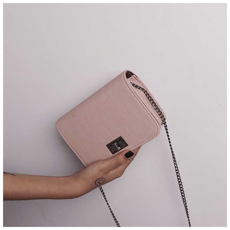 Bolsa de ombro feminina 2019 bolsas de luxo bolsas femininas versão designer de luxo selvagem meninas pequeno quadrado saco do mensageiro bolsa feminina