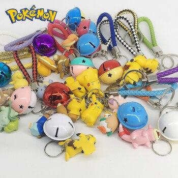 DIY Pokemon Keychain Pikachu Action Figure Pokemon Elf Series Children Toy Christmas Gifts 2