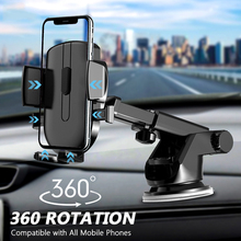 KISSCASE حامل هاتف في السيارة, حامل لوحة القيادة لهاتف آيفون 12 11 XR 8 360 مضاد للجاذبية حامل يُركب على فتحات التهوية