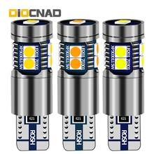 цена на 1pcs Car LED Clearance Light W5W T10 Canbus Lamp Bulb For vw polo golf 4 5 6 7 mk2 mk3 passat b5 b6 b7 touran t5 jetta mk6