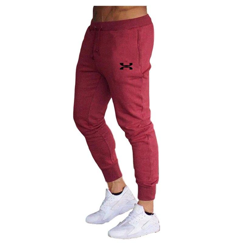 Men Sweatpants Fitness Bodybuilding Men Pants Casual Print Men Joggers Pants  Sweatpants Slim Fit Streetwear Male Trouser