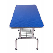 Professional Lightweight Pet Grooming Table Stable Convenient Non-slip Rust-proof Anti-swing Arm Height Adjustable Bearing 150kg