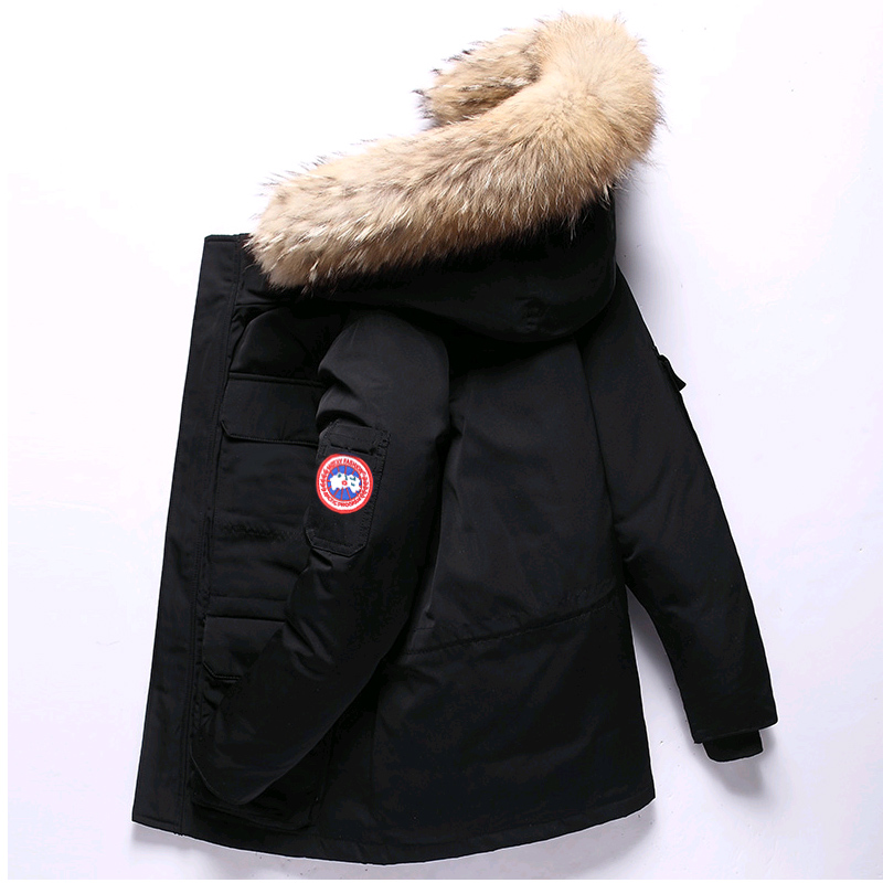 Baby Boys Winter Jacket Kids Coat Boy/white Duck Down Parka/jackets With Real Fur -30 Christmas Warm Jacket  Toddler Boy Clothes