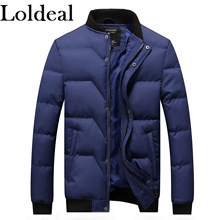 Loldeal  Mens Thermoball Full Zip Jacket Ultra Lightweight Packable Puffer Down Coat