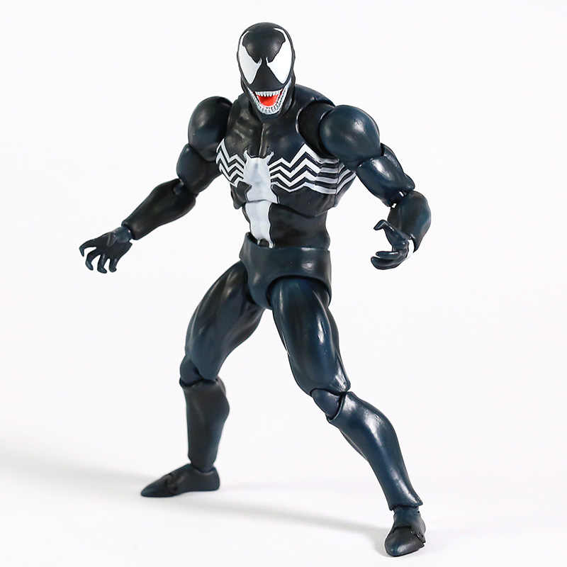 16cm MAFEX No.088 Venom Comic Version PVC Action Figure New