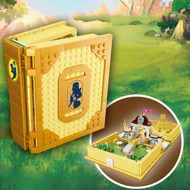2020 City Creator Dream Princess Castle Elsa Anna Model Building Block Brick Kid