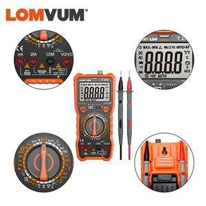 Image 5 - LOMVUM Digital Multimeter Auto 6000 Zählt Display Multimeter Tester 2 Sonden Spannung Strom Kapazität Mess