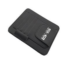 For Mitsubishi Delica D5 Leather Sun Visor Organizer Card Storage Pen Storage Glasses Holder