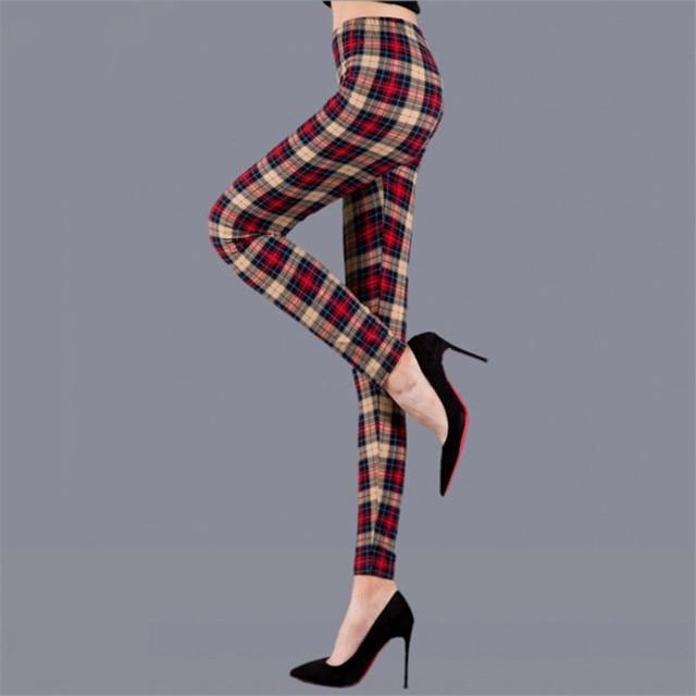 Plaid Leggings 8
