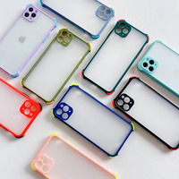 Funda de silicona a prueba de golpes para Xiaomi Redmi Note, carcasa trasera mate y transparente esmerilada para teléfono Xiaomi Redmi Note 9, 8, 8a, 7, 10 Pro, 8T, 9S, 9A, 9C