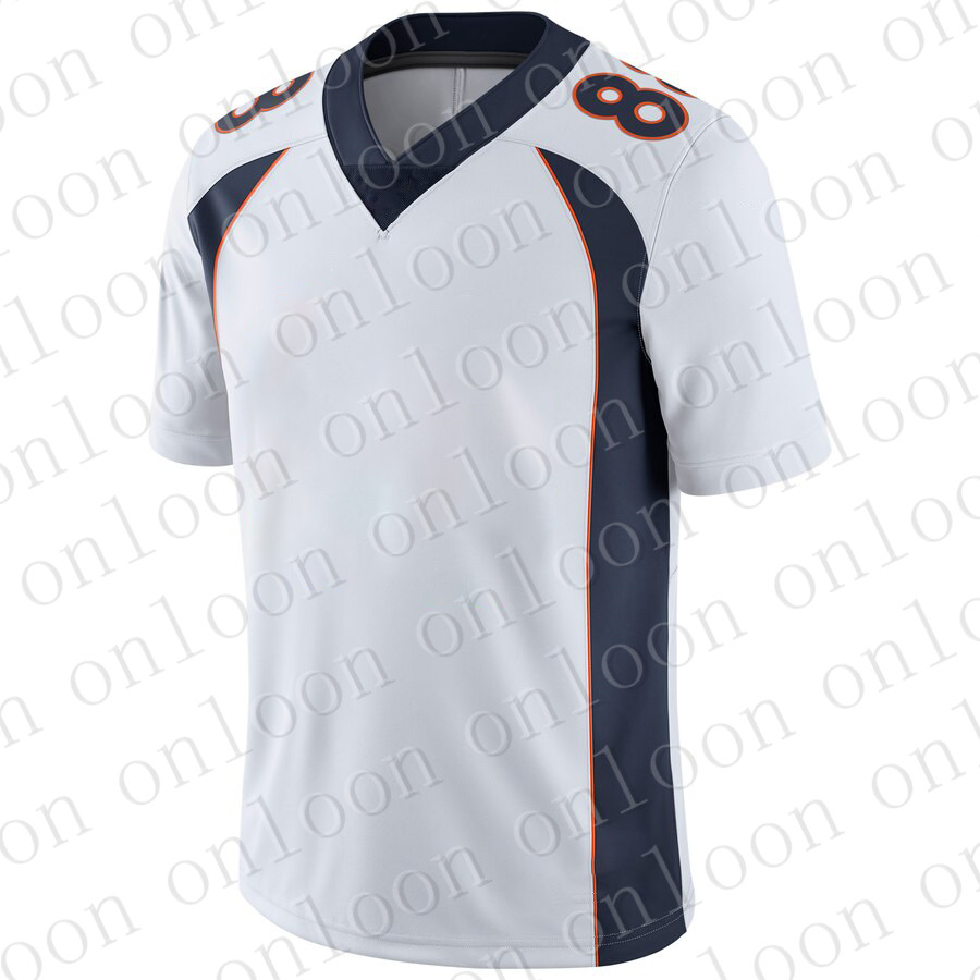 Color Mens 2020 New American Football Denver Sport Fans WearDrew Lock Phillip Lindsay Bradley Chubb Von Miller Jerseys